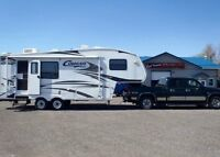 2005 GMC Sierra 1500HD Pickup Truck and 2007 Cougar 5th Wheel