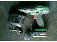 Parkside 14.4v cordless drill