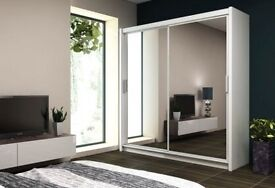HUGE CHRISTMAS SALE !!! FAST AND FREE DELIVERY !!! 40% OFF ALL WARDROBES !!! RRP £499