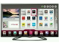 "LG 47"" LED smart wi-fi tv builtin HD freeview full HD 1080p. This is hardly used tv come with"