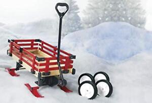 Millside Industries convert wagon to sled