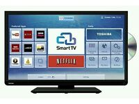 "Toshiba 32"" LED smart wi-fi built HD freeview & DVD player."