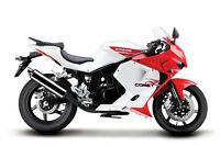 NEW 2012 Hyosung GT250R White / Red   $4395 + HST.