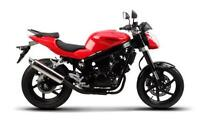 NEW, YES NEW! 2012 Hyosung GT250  Red or Black   $3945 + HST.