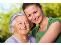 Live-in care jobs in Buckinghamshire, Hertfordshire and Suffolk