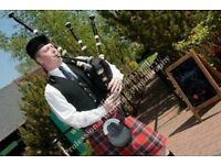 Experienced Bagpipe for all Occasions - Weddings, Funerals, Parties etc