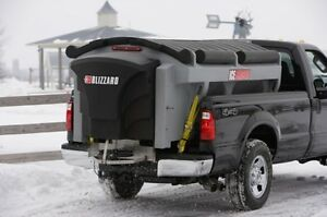 2 Weston 8'  V plow and blizzard 7' bed salter