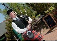 Experienced Bagpiper for Hire - Weddings/Funerals/Parties etc