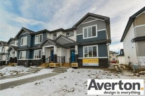 NO CONDO FEES!  BRAND NEW END UNIT..LANDSCAPING INCLUDED!