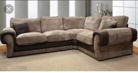 Scs Ashley sofa #FREE FOOTSTOOL #BRAND NEW