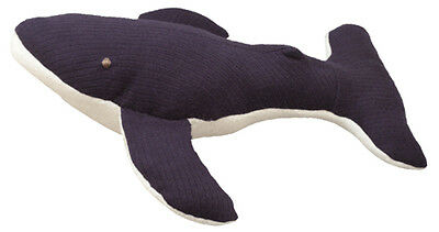Under the Nile Organic 100% Egyptian Cotton Stuffed Animal Humback Whale 134514
