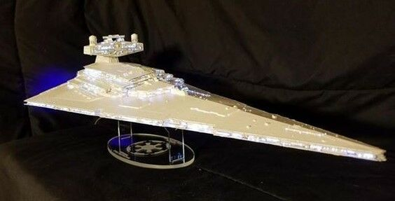 acrylic display stand for Zvezda Star Wars Star Destroyer Revell 1/2700