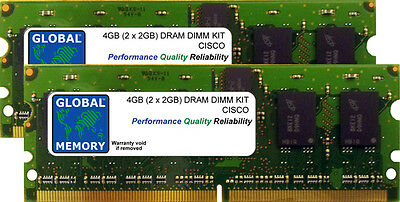 4 Go 2x2GB Drachme Kit Cisco ASR 1000 routeurs rp1