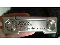 Titleist Scotty Cameron Select Newport 2 Notchback (2016 model) with Custom Shop weights