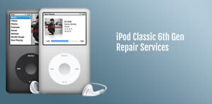 iPod Classic 7th gen Upgrade Service from Hard Drive: 160gb HDD to 256GB SSD