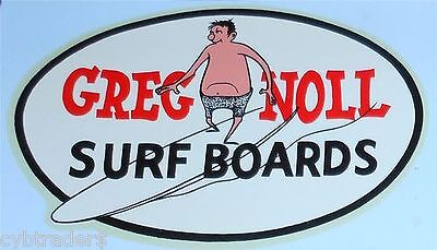 Greg Noll Surf Boards Advertising Refrigerator / Tool Box Magnet