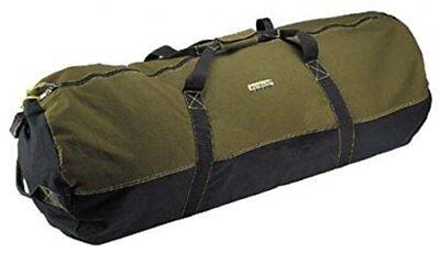 NEW Ledmark Heavyweight Cotton Canvas Outback Duffle Bag Giant 48 x 20