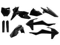 New Acerbis Plastic Kit Motocross KTM SX SXF 125 250 350 450 2016 16 Black