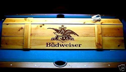 Pool Table Light & Cue Rack Combo!! - Billiards Man Cave Bar Lounge