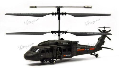 Rc Helicopter Blackhawk Ebay