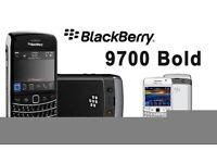 BlackBerry bold 9700 unlock- Black (Unlocked) Smartphone (Keypad -)