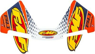 FMF Racing FMF 4.1 Colorways Logo Kit Orange 014833 27-5441 1860-1549