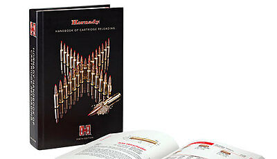 Hornady Handbook of Cartridge Reloading Manual 10th Edition New 2017 SKU 99240