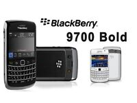 BlackBerry bold 9700 unlock- Black (Unlocked) Smartphone (Keypad -)