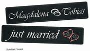 Kennzeichen Hochzeit