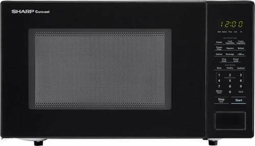 Sharp 1.1 cu ft. Countertop Microwave in White, Black or Sta