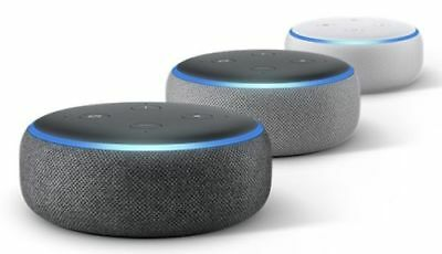 Amazon Echo Dot (3. Generation) Alexa WLAN Anthrazit / Hellgrau/ Sand *NEU&OVP* - Dot