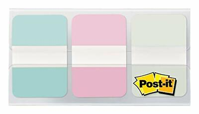 Post-it Durable Tabs 36pack 24case 1 In Wide Gradient Blue Pink Clear 686-g...