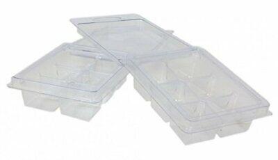 Wax Melt Mold Clamshell 100 Pack