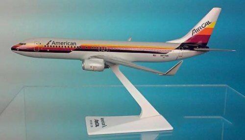 AMERICAN AIRLINES -  AIR CAL BOEING 737-800   DESK MODEL