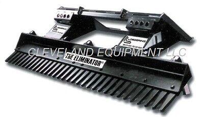 84 Loegering Eliminator Landscape Rake Attachment Skid-steer Tractor Kubota 7