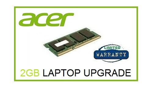2GB Ram Memory Upgrade for Acer Aspire One D257 & D270 Netbook Laptop Only