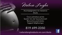 Mélanie Langlois, accompagnante à la naissance - Doula