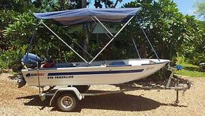 370 QUINTREX Traveller 15hp Yamaha outboard 2005 Mayfair Trailer Southport Litchfield Area Preview