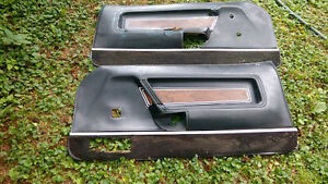 1971-73 Mustang Mach 1 deluxe interior Black door panels