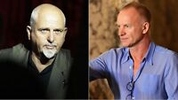"""Sting And Peter Gabriel Tickets """"Fantastic Seats"""" Section 101"""