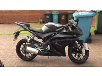 YAMAHA YZF R125 LEARNER LEGAL MOTORBIKE 5000 miles