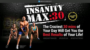 Insanity Max: 30 body workout -- DVD