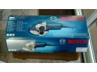 Bosch 9in angle grinder
