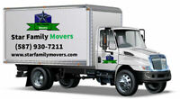 STAR Family Movers, professional and Affordable (780) 802-9843