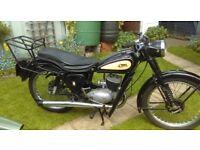 BSA Bantam D3 1950 - Very Good and Original Condition