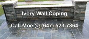 White Ivory Wall Coping White Ivory Step Treads Wall Capping
