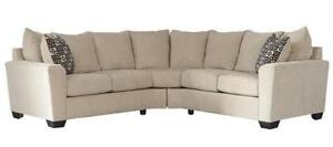 NEW Two Piece Sectional.  In Stock - Take it home today!