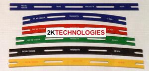 PECO Tracksetta - 00/H0 16.5mm Gauge Full Set 9 Track Laying Tools Flexi Track T