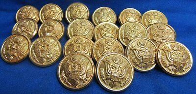 WWII British Made Army Officer Buttons Lot Of 20 by Luxenberg