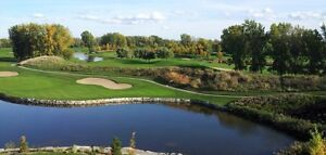 Condo for rent ,La Prairie,  Exceptional golf and pool view.